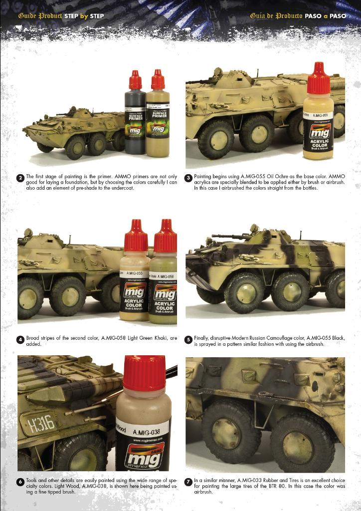 MIG-Step-by-Step-Painting-BTR-80-1 Painting a BTR 80 ... Step by Step!