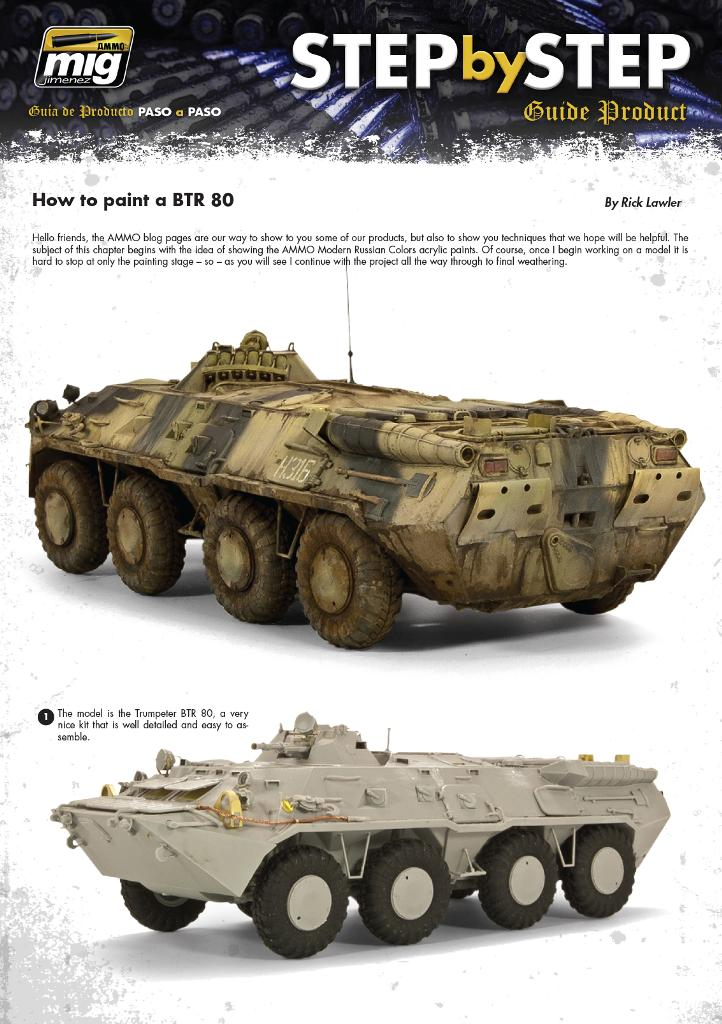 MIG-Step-by-Step-Painting-BTR-80-4 Painting a BTR 80 ... Step by Step!