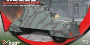 Panzerwagen Kubus von Mirage in 1:72