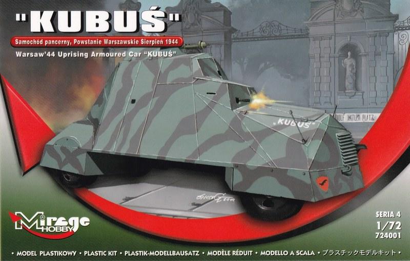 MIRAGE-Kubus-1zu72-20 Panzerwagen Kubus von Mirage in 1:72