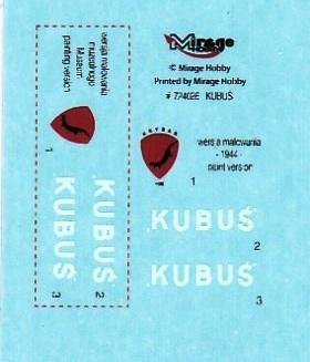 MIRAGE-Kubus-1zu72-5 Panzerwagen Kubus von Mirage in 1:72