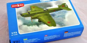 Schwerer sowjetischer Bomber TB-1 (ANT-4) von Mikro Mir 1:72