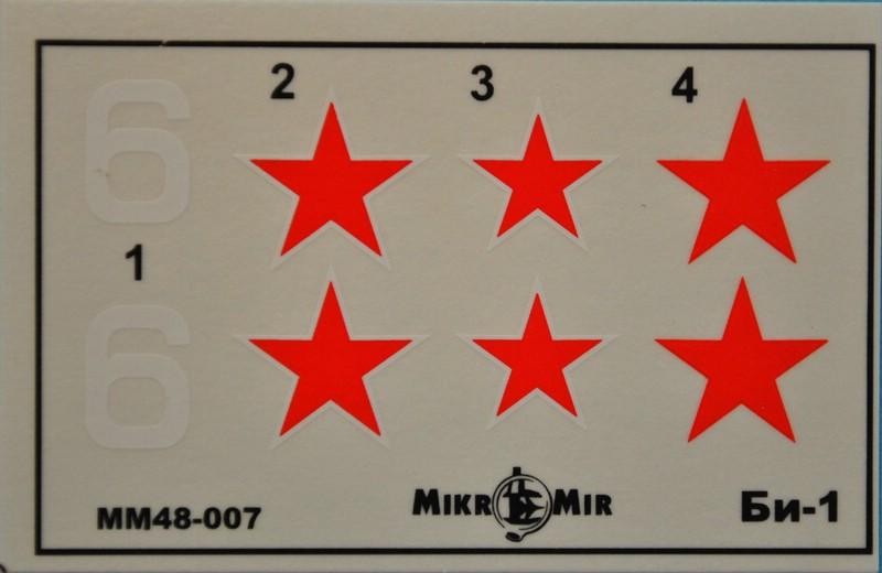 MikroMir-48010-BI-1-6 Bereznyak-Issajev BI-1 von MikroMir (1:48)