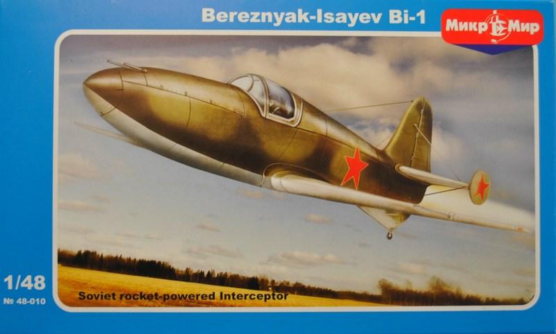 MikroMir-48010-BI-1-9 Bereznyak-Issajev BI-1 von MikroMir (1:48)