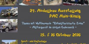 27. Ausstellung des PMC Main-Kinzig in Gelnhausen am 15./16. Oktober