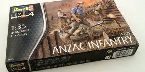 ANZAC Infantry von Revell im Maßstab 1:35