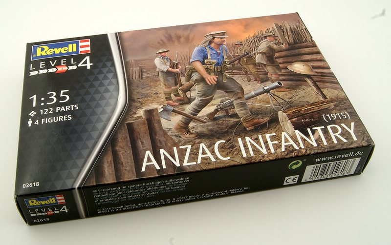 Revell-02618-Anzac-Infantry-20 25. April : ANZAC-Day