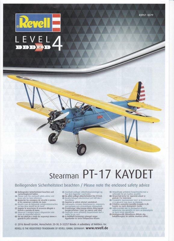 Revell-03957-Stearman-PT-17-Kaydet-1 Stearmann PT-17 Kaydet von Revell im Maßstab 1:48
