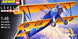 Stearmann PT-17 Kaydet von Revell im Maßstab 1:48