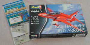 Eduard Zubehör für die Hawk T.1 von Revell in 1:72