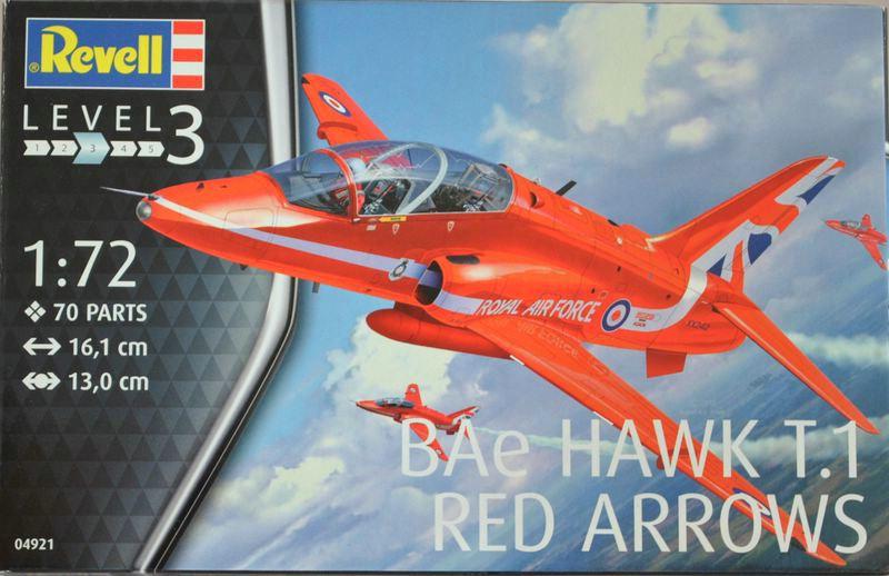 "Revell-04921-Hawk-T.1-Red-Arrows-26 BAe Hawk T.1 ""Red Arrows"" von Revell im Maßstab 1:72"