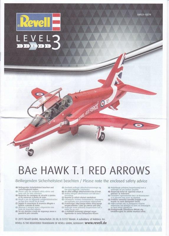"Revell-04921-Hawk-T.1-Red-Arrows-39 BAe Hawk T.1 ""Red Arrows"" von Revell im Maßstab 1:72"
