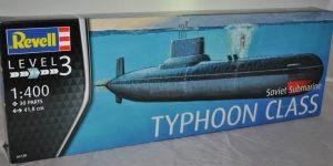 Typhoon Class Submarine (Revell 1:400)