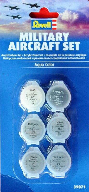 Revell-Acryl-Farbsets-39071 REVELL Farbsets für Modellbauanfänger