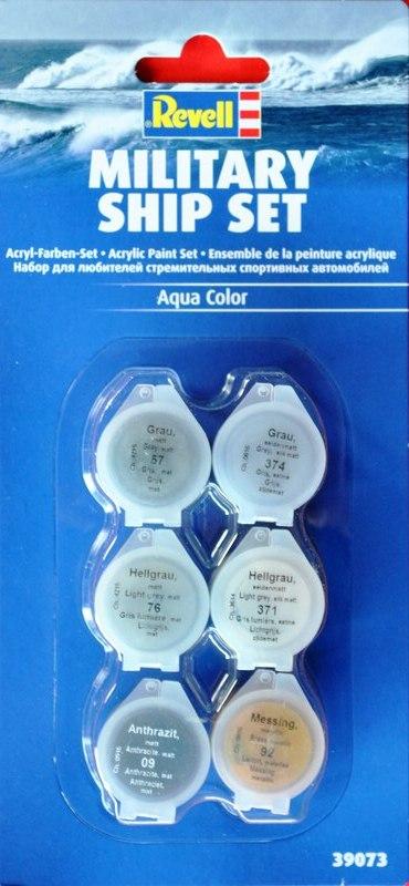 Revell-Acryl-Farbsets-39073 REVELL Farbsets für Modellbauanfänger