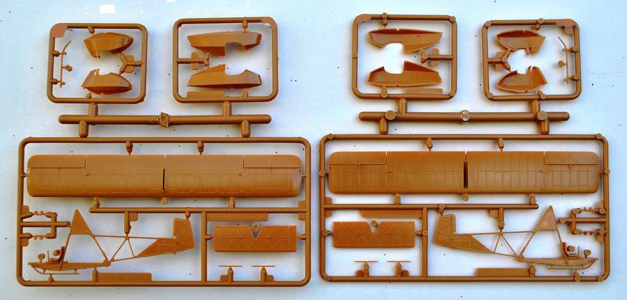 Special-Hobby-SG-38-Bausatzteile-7 Der Schulgleiter SG 38 von Special Hobby in 1:72 (72269 und 72319)