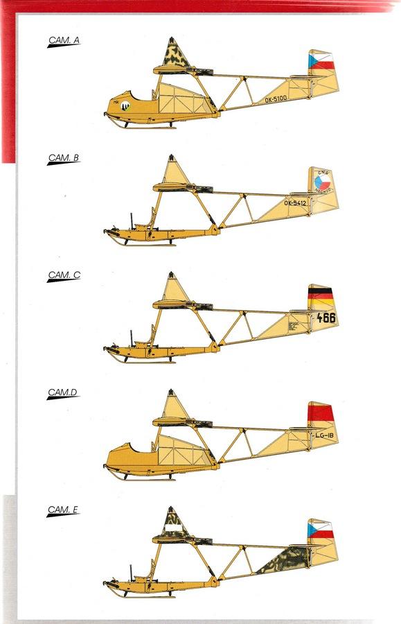 Special-Hobby-SH-72269-SG-38-2 Der Schulgleiter SG 38 von Special Hobby in 1:72 (72269 und 72319)