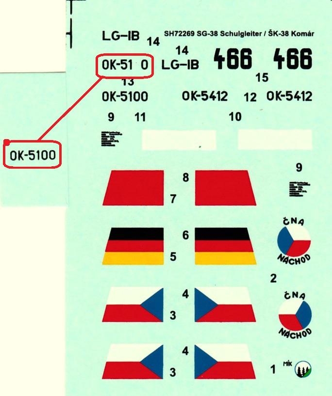 Special-Hobby-SH-72269-SG-38-3 Der Schulgleiter SG 38 von Special Hobby in 1:72 (72269 und 72319)
