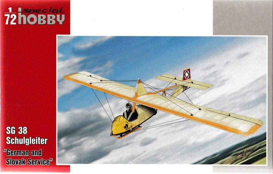 Special-Hobby-SH-72319-SG-38-9 Der Schulgleiter SG 38 von Special Hobby in 1:72 (72269 und 72319)