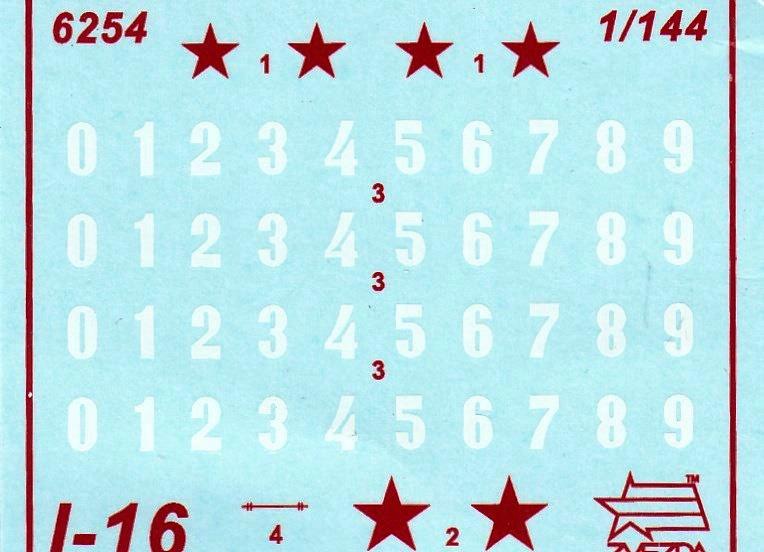 Zvezda-Polikarpov-I-16-1zu144-14 Polikarpov I-16 von Zvezda im Maßstab 1:144