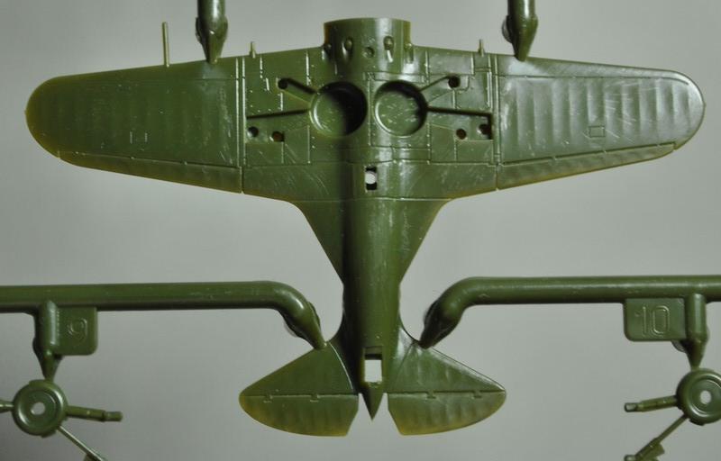 Zvezda-Polikarpov-I-16-1zu144-19 Polikarpov I-16 von Zvezda im Maßstab 1:144