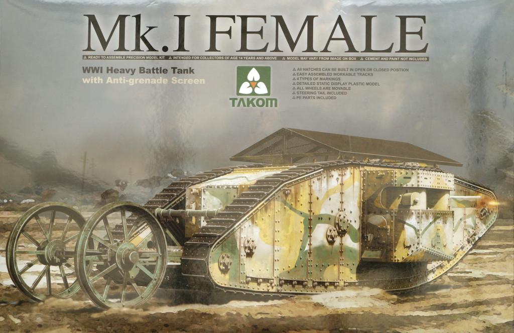 00 Mk.I Female Takom 1:35 (2033)