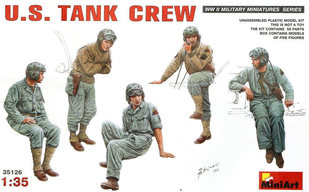 01-1 U.S. Tank Crew 1:35 Miniart (35126)