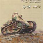 01-150x150 French FT-17 Light Tank Riveted Turret (Meng TS-011)