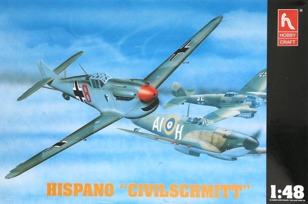 "01-3 Hispano ""Civilschmitt"" 1:48 Hobbycraft (HC1523)"
