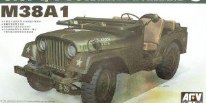 M38A1 U.S. 1/4 Ton Army & Marine 1:35 AFV Club (AF35S17)