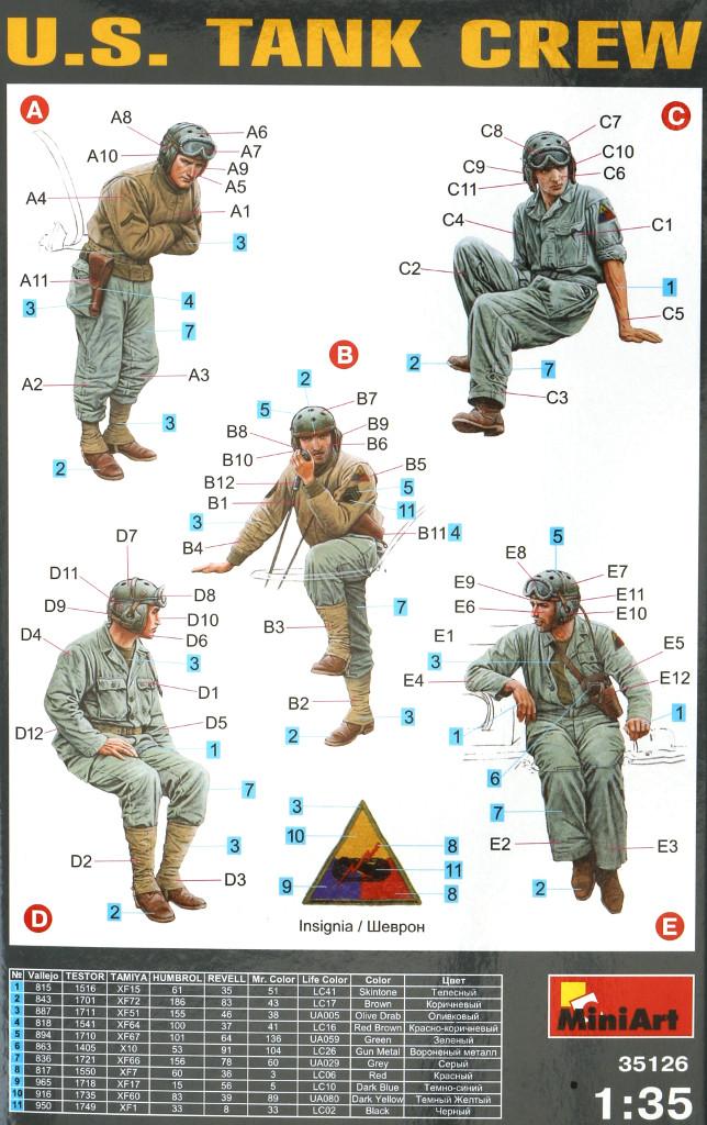 02-1 U.S. Tank Crew 1:35 Miniart (35126)