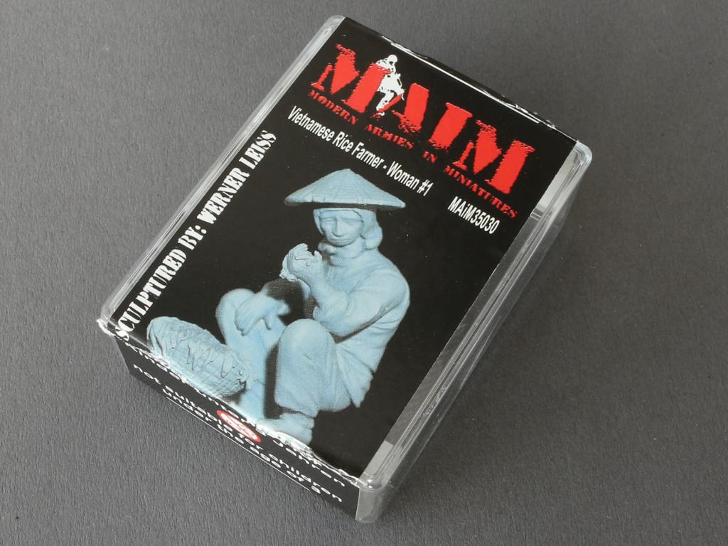 023-1 Auswahl vietnamesischer Figuren von MAiM in 1:35