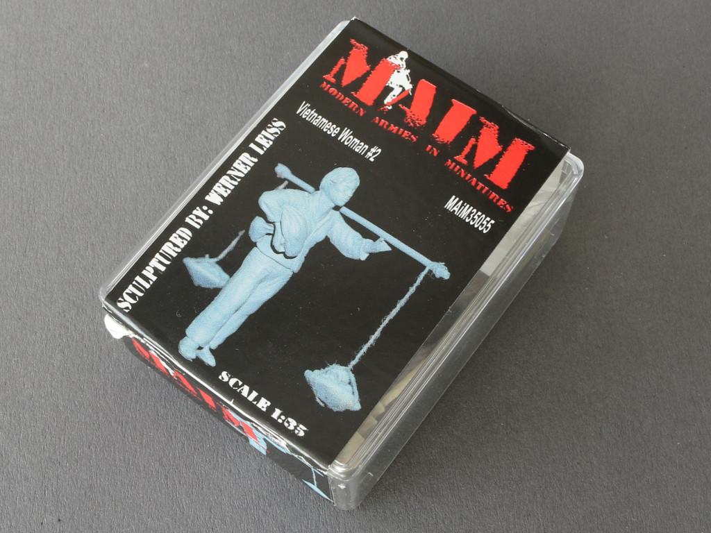 024-1 Auswahl vietnamesischer Figuren von MAiM in 1:35