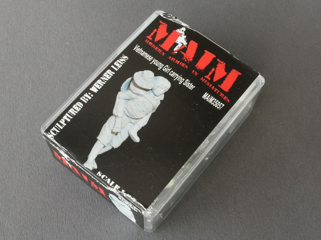 025-1 Auswahl vietnamesischer Figuren von MAiM in 1:35