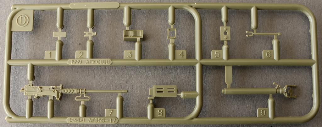 13-3 M38A1 U.S. 1/4 Ton Army & Marine 1:35 AFV Club (AF35S17)