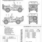 23-150x150 M38A1 U.S. 1/4 Ton Army & Marine 1:35 AFV Club (AF35S17)