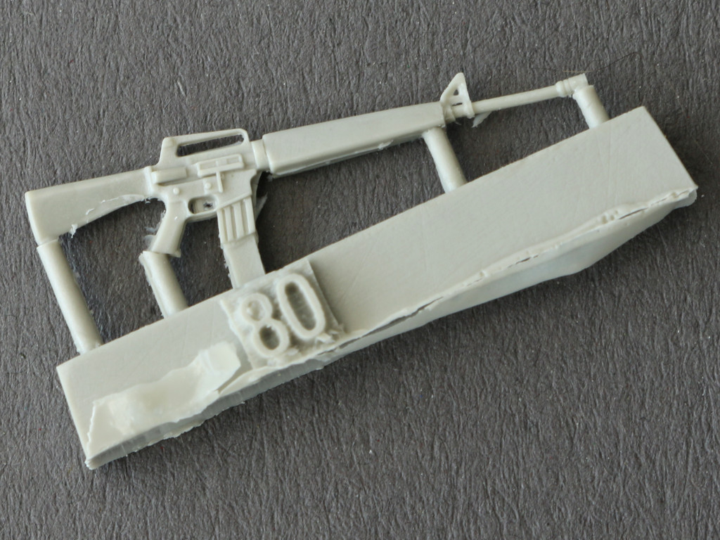 3 M-16 Rifle 1:35 plusmodel EASY line (EL008)