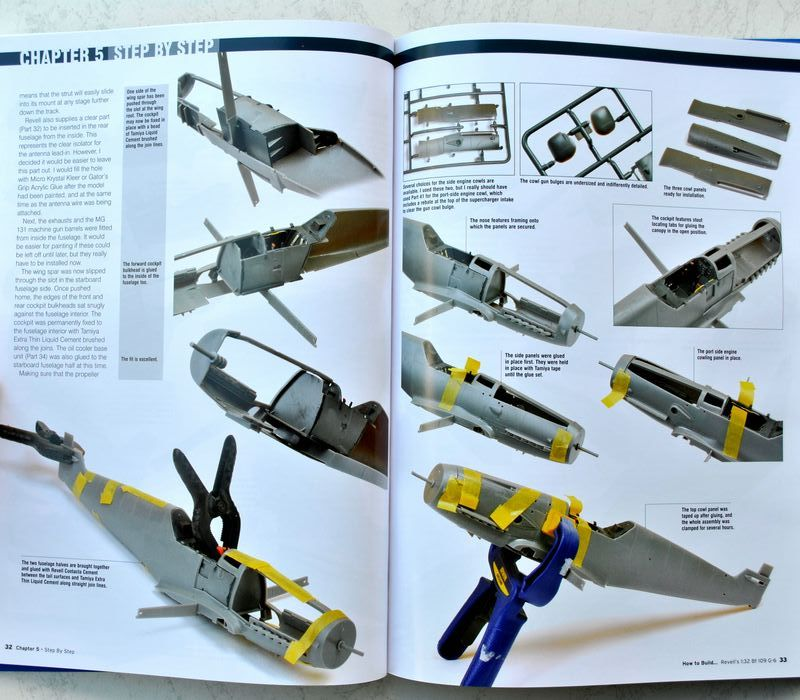 ADH-How-to-build-Me-109-G-6-3 How to build Revell´s Bf 109 G ADH Publishing