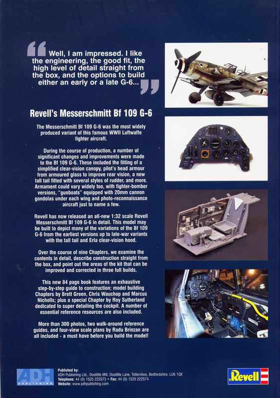 ADH-How-to-build-Me-109-G-6 How to build Revell´s Bf 109 G ADH Publishing