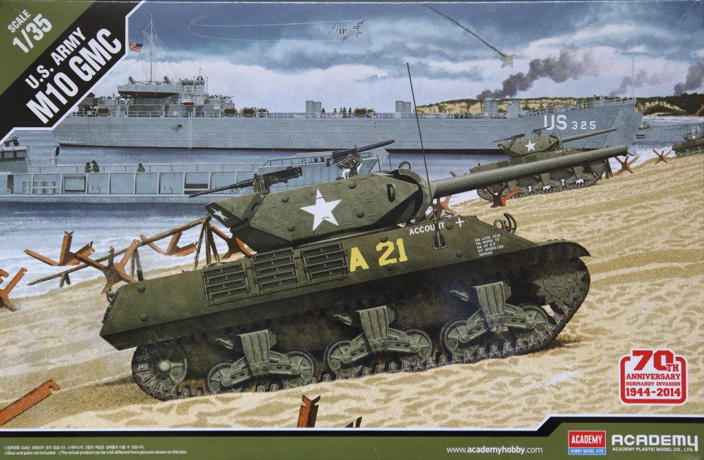 Academy_M10_29 M10 Gun Motor Carriage - Academy 1/35 --- #13288