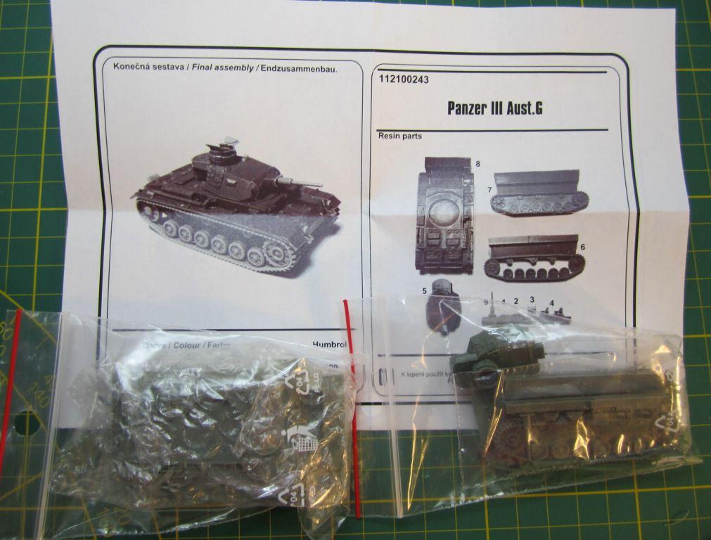 ArsenalM-Panzer-III-Ausf.-G-1 Neuheiten von ArsenalM - Mai 2016