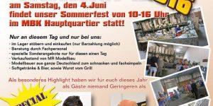 Sommerfest am 4. Juni bei Modellbau König in Delmenhorst