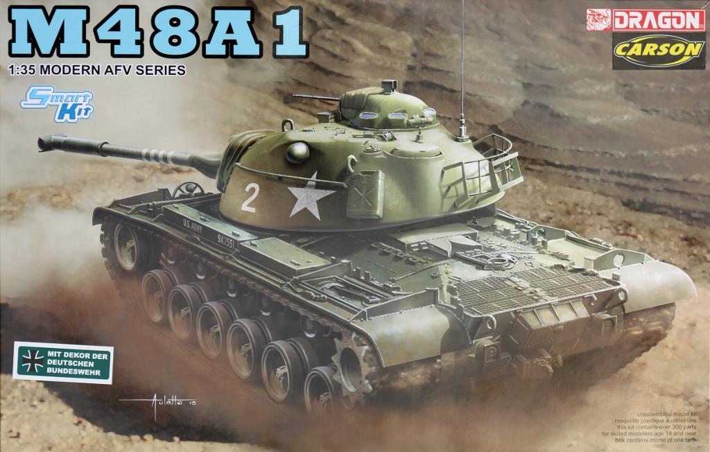 Boxart M48A1 1:35 (Dragon 3559)