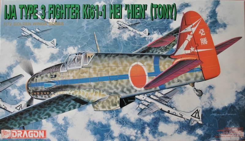 """DRAGON-Kawasaki-Ki-61-1-HEI-10 Kawasaki Ki 61-1 HEI """"Tony"""" von Dragon (1:72)"""