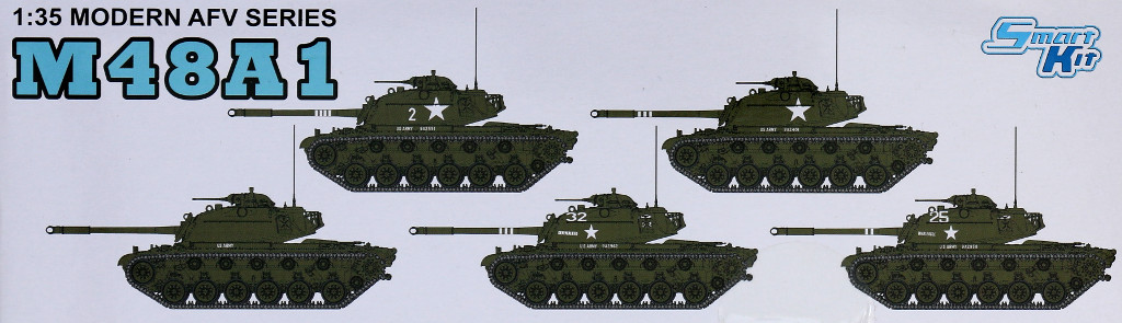 Decalvarianten M48A1 1:35 (Dragon 3559)