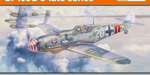 Eduard Bf 109 G-6 lates series (# 82111 ) aus neuer Form (1:48)