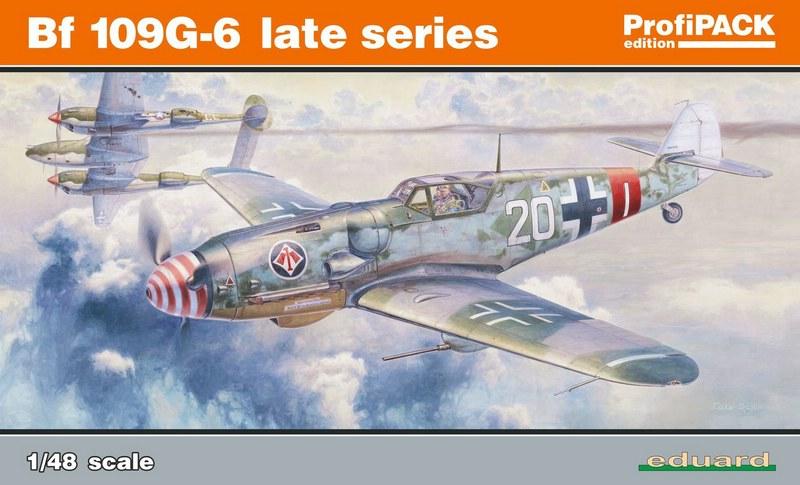 Eduard-82111-Bf-109-G-6-9 Eduard Bf 109 G-6 lates series (# 82111 ) aus neuer Form (1:48)