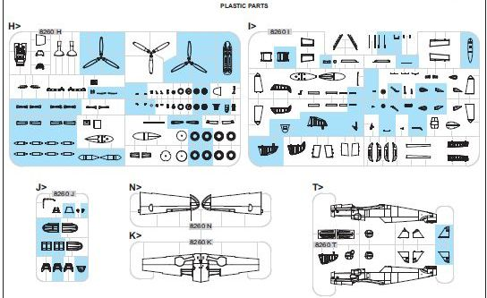 Eduard-82111-Bf-109-G-6-bauanleitung-14 Eduard Bf 109 G-6 lates series (# 82111 ) aus neuer Form (1:48)