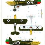 Eduard_Avia_534late_144_28-150x150 Avia B.534 late (Serie IV) - Eduard Quattro Combo - 1/144 --- #4452
