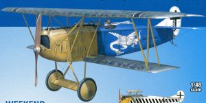 Fokker D-VII OAW – Eduard Weekend Edition + Zubehör – 1/48 — #84155